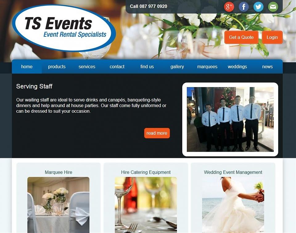 TS Events Cork - Event management