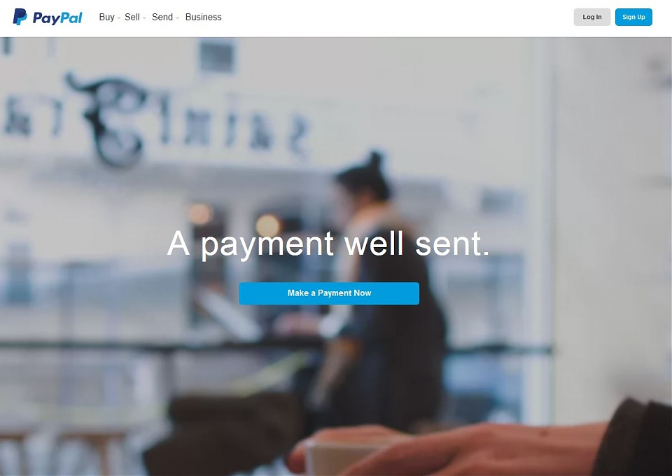 Paypal HTML5 Video Background
