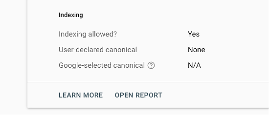 Duplicate without user selected canonical