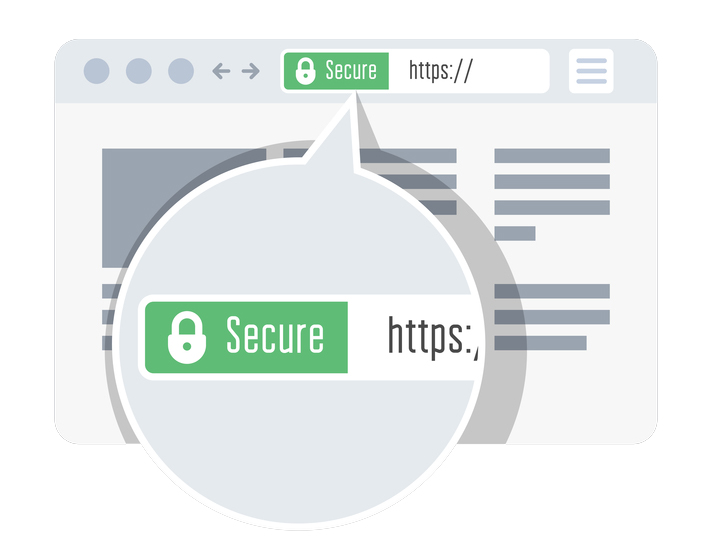 Secure https website